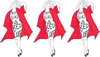 That Girl in the Red Coat