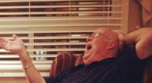 Dad's laugh